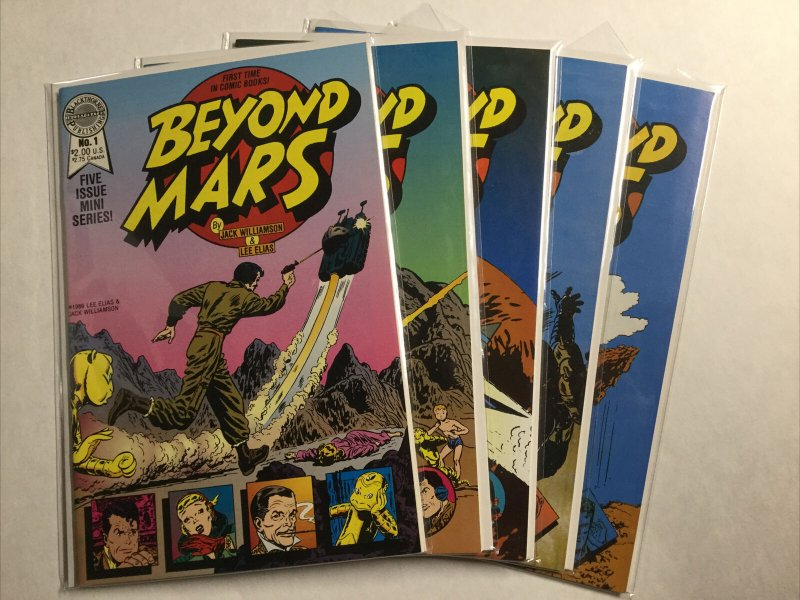 Beyond Mars 1-5 1 2 3 4 5 Lot Set Run Nm Near Mint Blackthorne Publishing