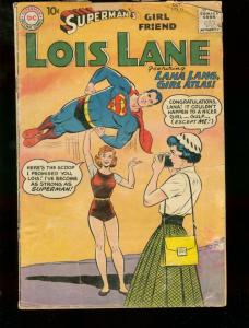 SUPERMAN'S GIRL FRIEND LOIS LANE #12 DC COMICS LANA LAN FR