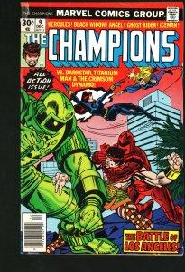 The Champions #9 (1976)