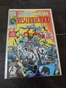 Silver Surfer/Warlock: Resurrection #2 (1993)