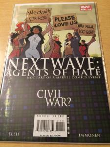 Next Wave: Agents of H.A.T.E. #11
