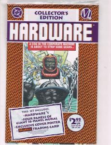 Hardware #1 NM DC Comics Collectors Edition Comic Book 1993 DE41 AD18