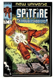 Spitfire #4-1986-Early Todd McFarlane art-New Universe-Comic Book