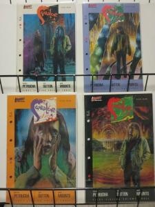 SQUALOR (1989 FS)1-4 STEFAN PETRUCHA's 1st comics work!