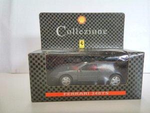 Coche Escala/Scale Diecast Car: FERRARI 348 TS, Gris Oscuro - Ferrari Collezi...