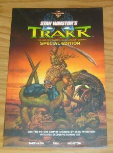 Stan Winston's Trakk: Monster Hunter TPB VF/NM signed by stan winston (#20/200)