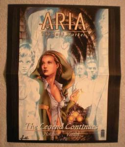 ARIA  SOUL MARKET Promo Poster, 11x13, 2001, Unused, more Promos in store