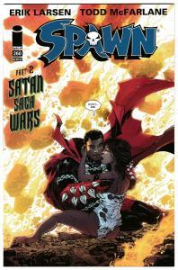 Spawn #260 Satan Saga Wars Pt 2 / Erik Larsen Cvr (Image, 2016) NM