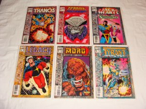 Cosmic Powers 1 2 3 4 5 6  Thanos Tyrant Morg Legacy Terrax Jack of Hearts 1994