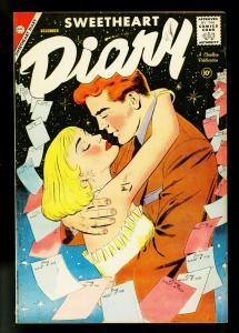 Sweetheart Diary #44 1958- Charlton Romance- Trapani- FN