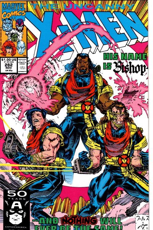 UNCANNY X MEN #282 AND #283 1ST CAMEO AND 1ST APP BISHOP $25.00  VFN NM