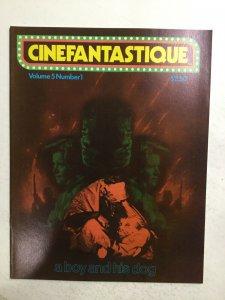 Cinefantastique Volume 5 No.1 Magazine Very Fine Vf 8.0 Frederick S. Clarke