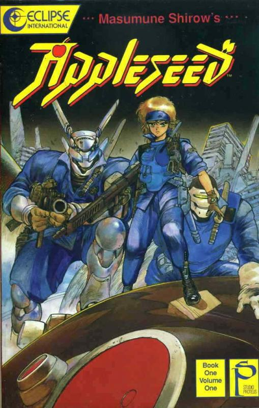 Appleseed Book 1 #1 VF/NM; Eclipse | save on shipping - details inside