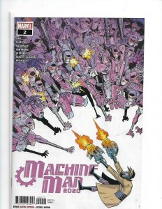 Machine Man 2020 #2 Cover A (Near Mint/Mint)  nw07
