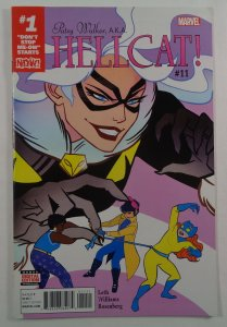 Patsy Walker Hellcat #11 NM- Front/Back Cover Photos Marvel 2016