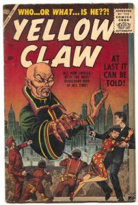 Yellow Claw #1 1956- Maneely- Feldstein- KEY ISSUE FN