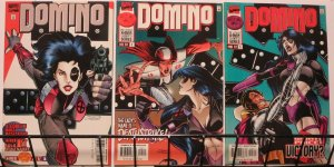 DOMINO (1997) 1-3  X-Factor / Mutant Spin-off!