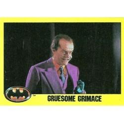 1989 Batman The Movie Series 2 Topps GRUESOME GRIMMACE #262