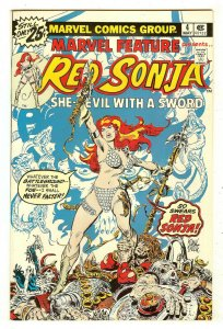 Marvel Feature 4   Vol. 2   Red Sonja