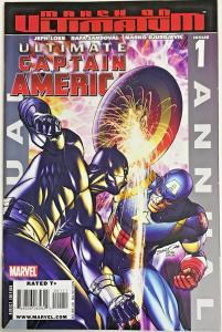 ULTIMATE CAPTAIN AMERICA ANNUAL#1 VF/NM 2008 VS BLACK PANTHER MARVEL COMICS
