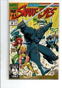 GI Joe A Real American Hero #135 - Snake Eyes - 1992 - (-Near Mint)