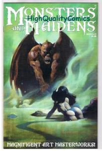 MONSTERS & MAIDENS #2, VF+, Pin-ups, Mike Hoffman,2003, more indies in store