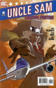 Uncle Sam and the Freedom Fighters (2006 series) #4, NM (Stock photo)