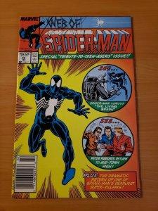 Web of Spider-Man #35 Newsstand Edition ~ NEAR MINT NM ~ (1988 Marvel)