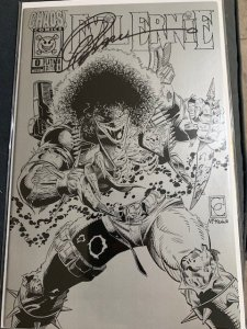 Evil Ernie #0 Platinum Issue Signed by Greg Capullo with COA