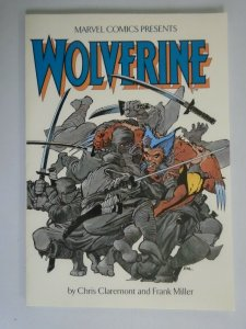 Wolverine TPB #1 by Frank Miller and Chris Claremont SC 8.0 VF (1988 3rd Print)