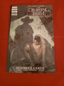 Dark Tower The Drawing of the Three: House of Cards # 4 of 5 Stephen King NM