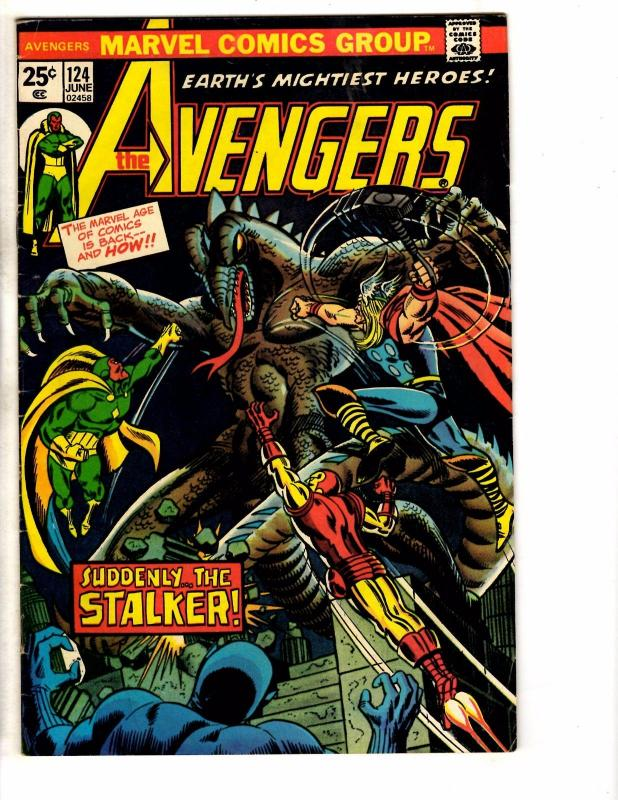 Avengers #124 VG/FN Marvel Comic Book Iron Man Hulk Thor Vision Wasp Ant-Man NP4