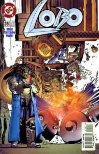 Lobo #35 VF/NM; DC | save on shipping - details inside
