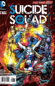 Suicide Squad #8 (VF/NM) 2012 DC Comics ID#000