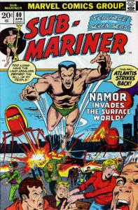 Sub-Mariner, The (Vol. 2) #60 VG; Marvel   low grade comic - save on shipping -