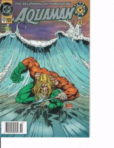 Lot Of 2 DC Comic Books Aquaman #0 and Shadow Cabinet #1  ON2