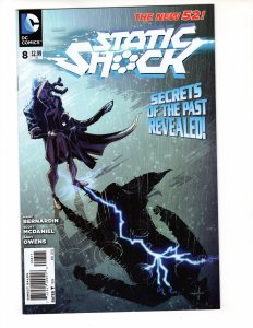 STATIC SHOCK #8 (VF/NM) 1¢ Auction going on! See More!!!
