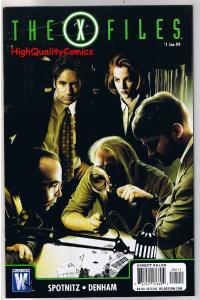 X-FILES #1, NM, Fox Mulder, Dana Scully, Denham, 2008, more XF in store