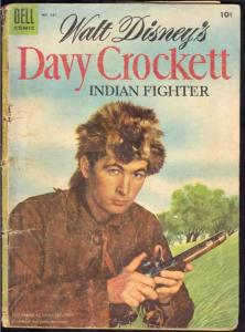 Four Color #631 (May-55) GD Affordable-Grade Davy Crockett