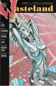 WASTELAND #5, VF/NM, David Lloyd, DC 1987 1988  more DC in store