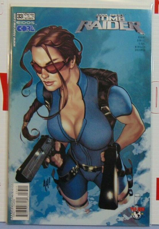 Tomb Raider Issue #33 Adam Hughes Variant Cover 1st Print Laura Croft Image MINT