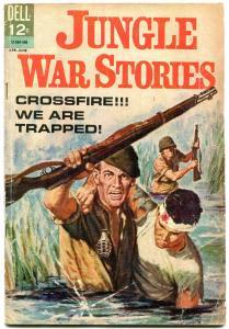 JUNGLE WAR STORIES #7-VIET CONG-DELL VG