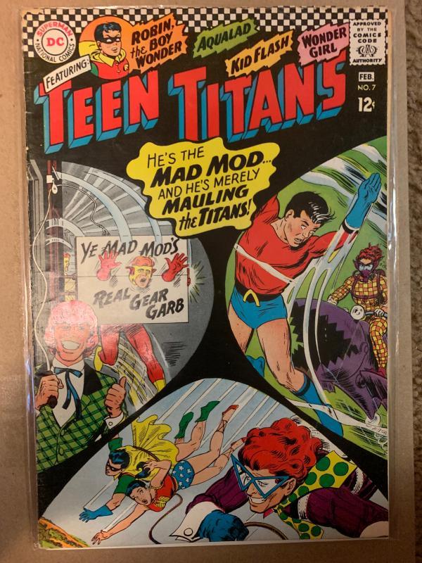 Teen Titans (1966) 7 Fine (6.0)