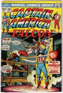 Captain America   vol. 1   #168 VG (and the Falcon)