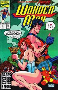 Wonder Man (1991 series) #2, VF+ (Stock photo)