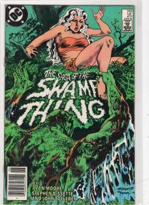 SAGA OF THE SWAMP THING #25, VF, Alan Moore, DC 1982 1984 John Constantine