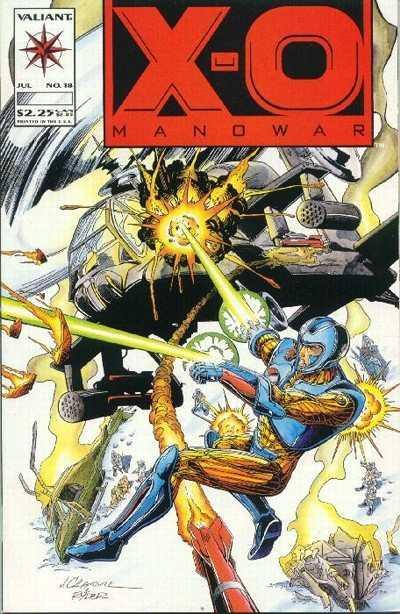 X-O Manowar (1992 series) #18, VF (Stock photo)