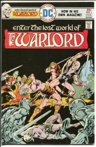 Warlord #1 1976-DC-Mike Grell Art-1st issue-VF