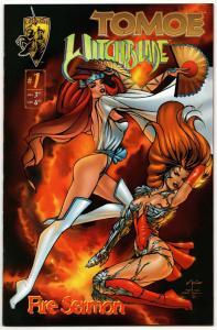 Tomoe Witchblade #1 (Crusade, 1996) NM-