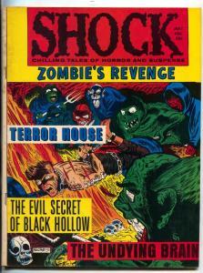 Shock Vol. 2 #2 1970- Horror Magazine Hitler Zombies Revenge